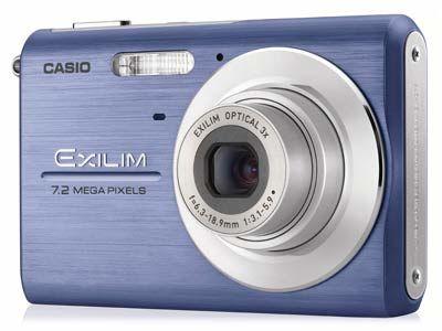 Casio EXILIM Z75 modrý