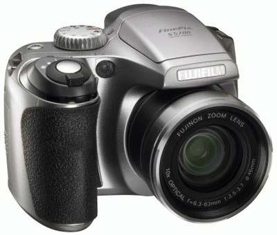 Fuji FinePix S5700 stříbrný