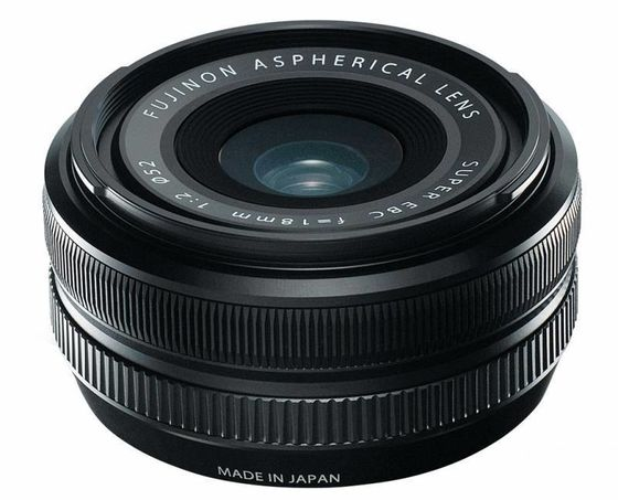 Fujifilm XF 18 mm f/2,0 R
