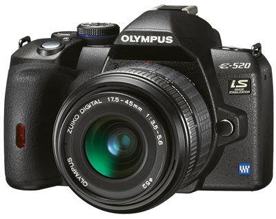Olympus E-520 tělo