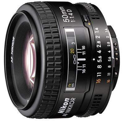 Nikon 50 mm F1,4 AF NIKKOR D A