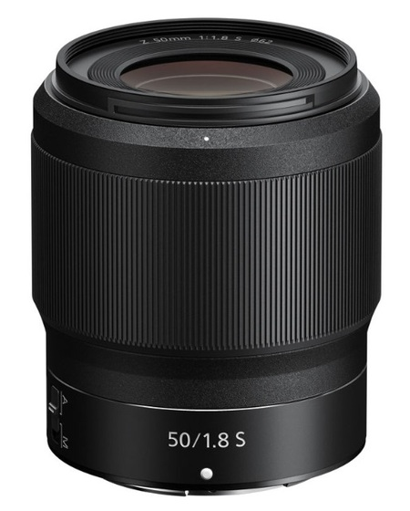 Nikon Z 50 mm f/1,8 S
