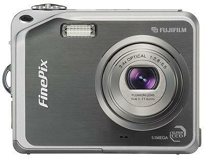 Fuji FinePix V10 stříbrný