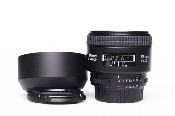 Nikon 85mm f/1,8 AF NIKKOR D A bazar