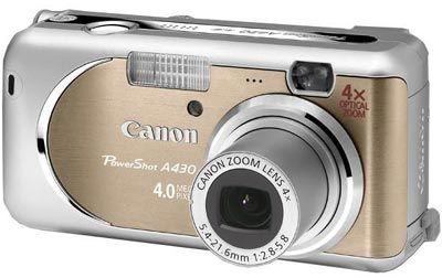 Canon PowerShot A430 béžový
