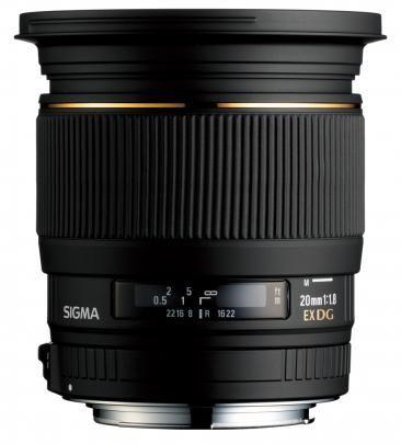 Sigma 20mm f/1,8 EX DG ASPHERICAL RF pro Canon