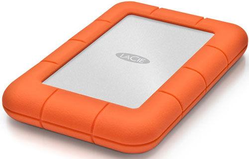 """LaCie Rugged Mini 1TB HDD, 2.5"""" USB 3.0, hliníkový, odolný"""