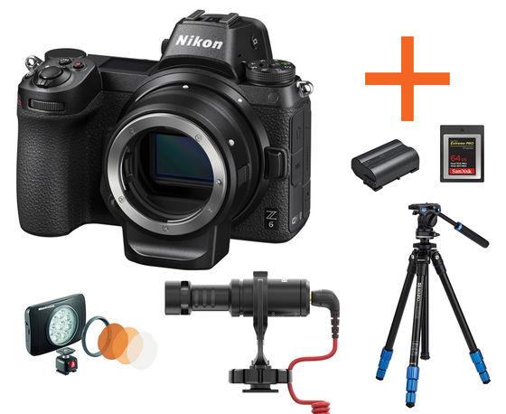 Nikon Z6 tělo + FTZ adaptér Neváhej a toč!