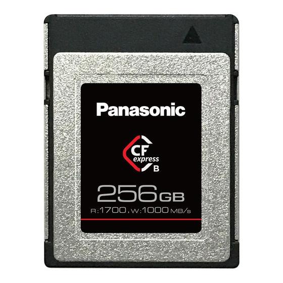 Panasonic CFexpress Typ B 256GB
