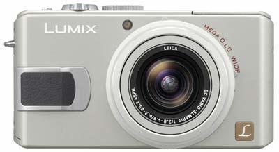 Panasonic DMC-LX2 stříbrný