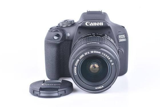 Canon EOS 2000D + 18-55 mm IS II bazar