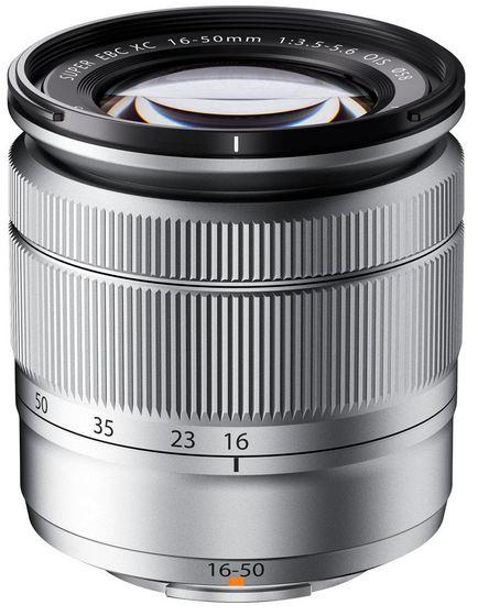 Fujifilm XC 16-50 mm f/3,5-5,6 OIS stříbrný