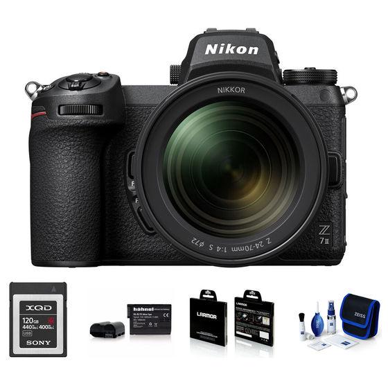Nikon Z7 II + 24-70 mm - Foto kit