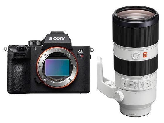 Sony Alpha A7R III + FE 70-200 mm f/2,8 GM OSS