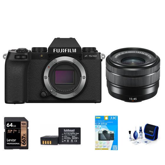 Fujifilm X-S10 + XC 15-45 mm černý - Foto kit