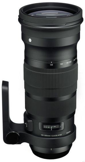 Sigma 120-300 mm f/2,8 DG OS HSM Sport pro Canon