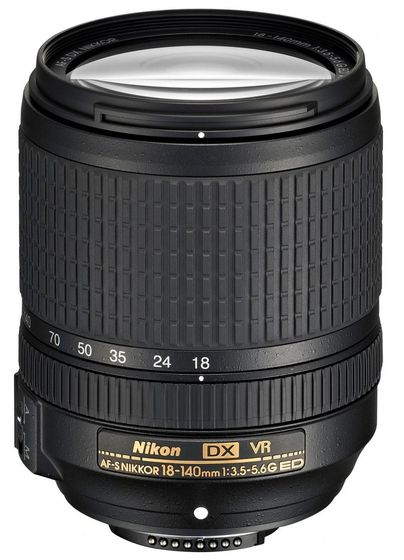 Nikon 18-140 mm f/3,5-5,6 G ED VR
