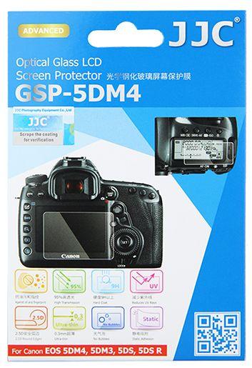 JJC ochranné sklo na displej pro Canon 5D Mark IV, 5D Mark III, 5DS, 5DS R