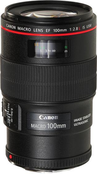 Canon EF 100 mm f/2,8 L Macro IS USM