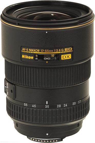 Nikon 17-55 mm f/2,8 AF-S DX ZOOM-NIKKOR IF-ED s LC-77 / HB-31 / LF-1 / CL-1120