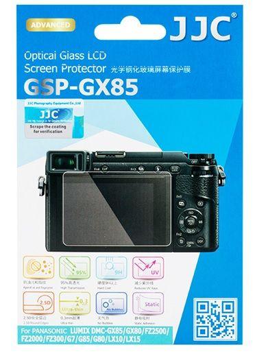 JJC ochranné sklo na displej pro Panasonic některé modely řad G,GX,LX,FZ (GX85)