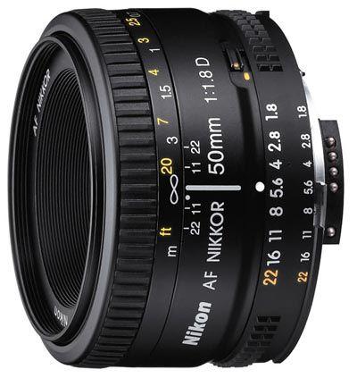 Nikon 50 mm F1,8 AF NIKKOR D