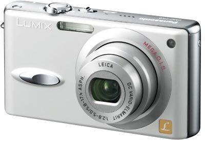 Panasonic DMC-FX8 stříbrný
