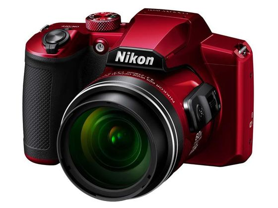 Nikon Coolpix B600 červený + pouzdro