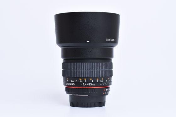 Samyang 85mm f/1,4 pro Nikon bazar