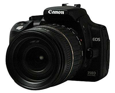 Canon EOS 350D + Tamron 18-200 mm