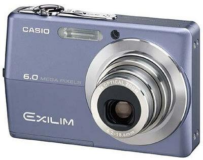Casio EXILIM Z600 modrý