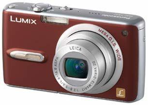 Panasonic DMC-FX07 červený
