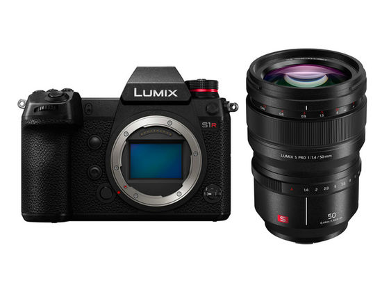 Panasonic Lumix DC-S1R + S PRO 50 mm f/1,4
