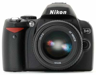 Nikon D40 tělo