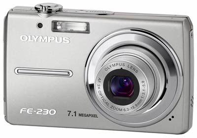 Olympus FE-230 + xD 256MB karta + Zoner CL 9 zdarma!