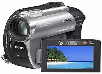 Sony DCR-DVD306E