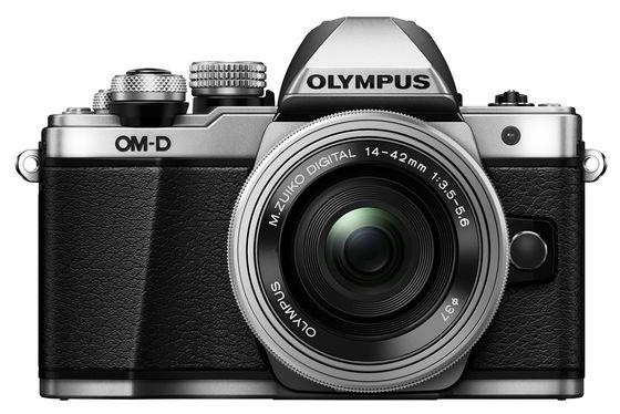 Olympus OM-D E-M10 Mark II + 14-42 mm EZ + 40-150 mm R stříbrný - Základní kit