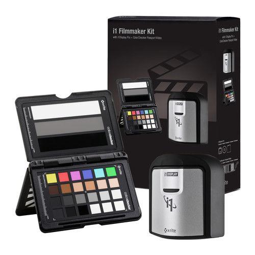 X-Rite i1Display Pro + ColorChecker Passport Video (i1Filmmaker Kit)