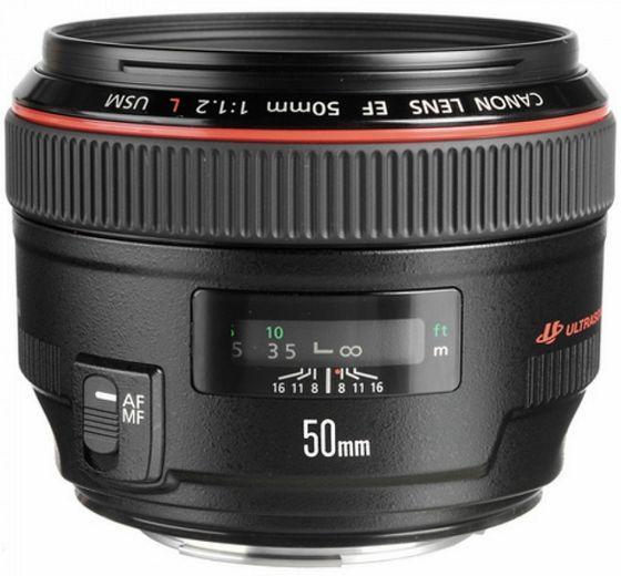 Canon EF 50 mm f/1,2 L USM