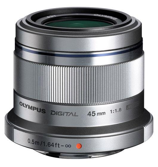 Olympus M.ZUIKO 45 mm f/1,8 ET-M4518