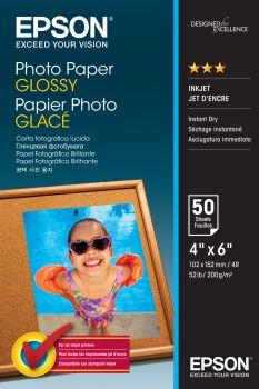 Epson Photo Paper Glossy 10x15cm, 50 listů