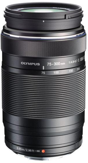 Olympus M.ZUIKO 75-300 mm ED II f/4,8-6,7 EZ-M7530-2 černý