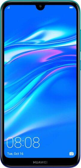 Huawei Y7 2019 modrý - Zánovní'!