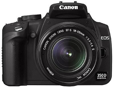 Canon EOS 350D + 18-55mm + 55-200mm