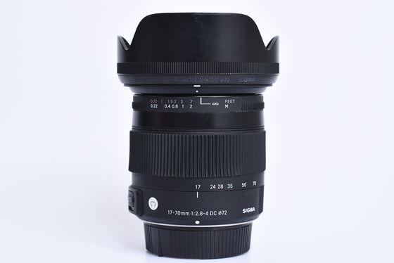 Sigma 17-70mm f/2,8-4,0 DC Macro OS HSM Contemporary pro Nikon bazar