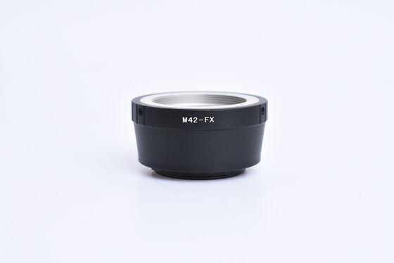Adaptér z M42 na Fujifilm X bazar