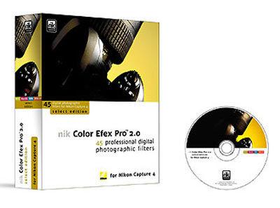 Nikon Colour EFEX Pro verze Select