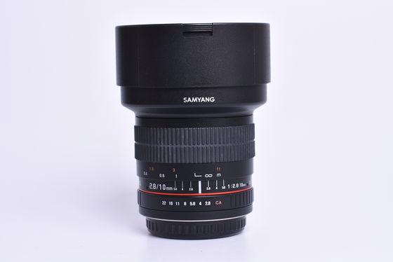 Samyang 10mm f/2,8 ED AS NCS CS pro Canon bazar