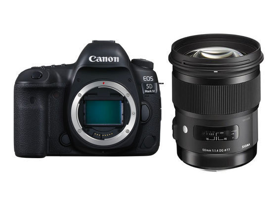 Canon EOS 5D Mark IV + Sigma 50 mm f/1,4 DG HSM Art