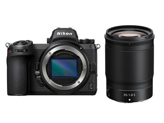 Nikon Z7 II + Z 85 mm